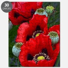Cute Poppies Puzzle