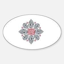 The Tudor Rose Pink Diamond Decal