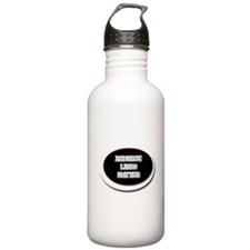 Black and White Rednec Water Bottle