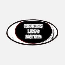 Black and White Rednecks Lives Matter Patch