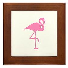 flamingo-hi Framed Tile