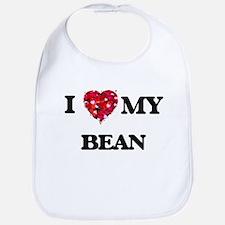 I Love MY Bean Bib