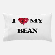 I Love MY Bean Pillow Case