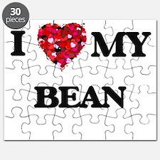 I Love MY Bean Puzzle