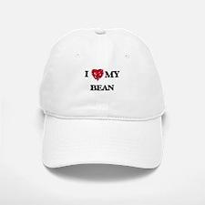 I Love MY Bean Baseball Baseball Cap