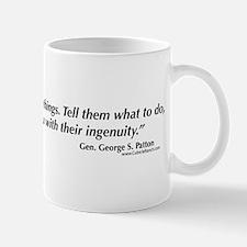 George S. Patton ingenuity Mug