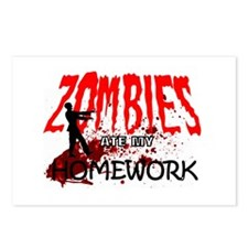 Zombie Merchandise Postcards (Package of 8)