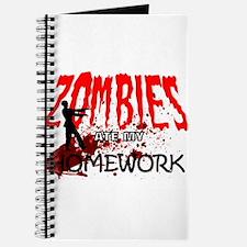Zombie Merchandise Journal