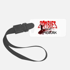 Zombie Merchandise Luggage Tag