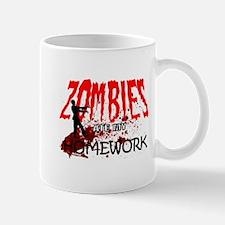 Zombie Merchandise Mugs