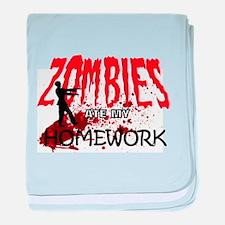Zombie Merchandise baby blanket