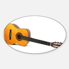acustic guitar Decal