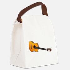 acustic guitar Canvas Lunch Bag