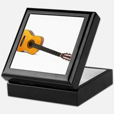 acustic guitar Keepsake Box