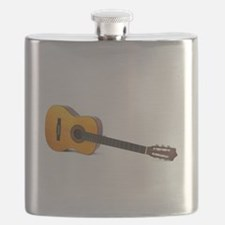 acustic guitar Flask