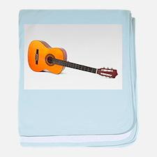 acustic guitar baby blanket