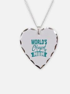 World's Okayest Mom Necklace
