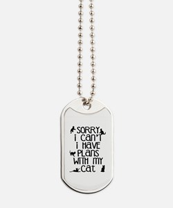 Sorry Plans With The Cat Dog Tags