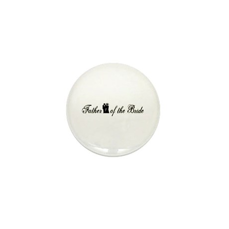 Father of the Bride Mini Button (10 pack)