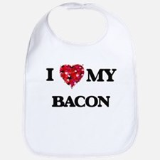 I Love MY Bacon Bib