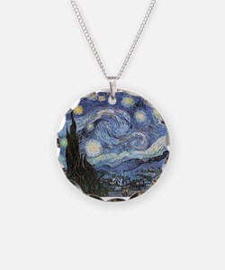 Starry Night Vincent Van Gogh Necklace