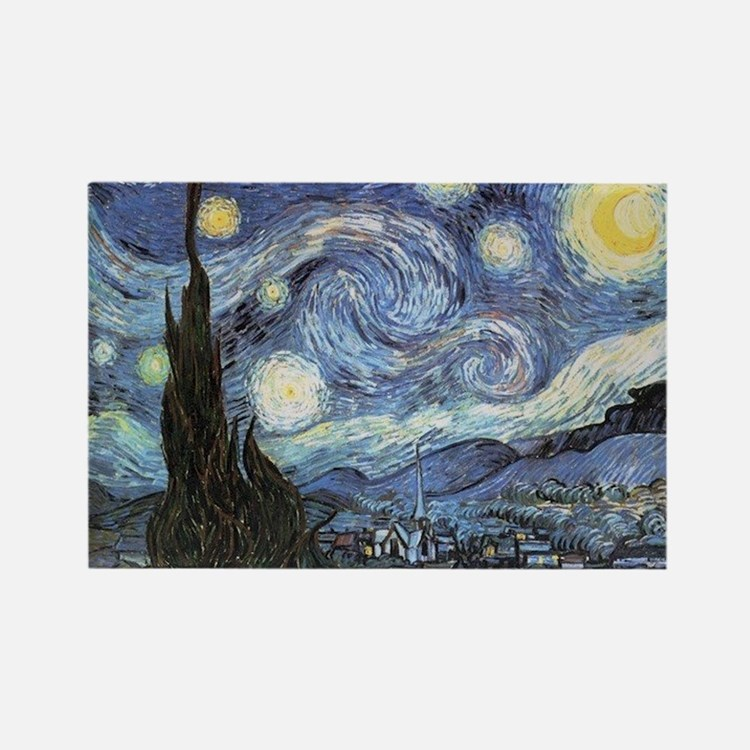 Starry Night Vincent Van Gogh Magnets