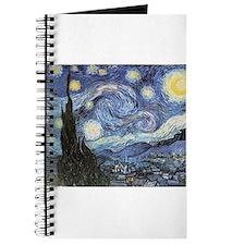 Starry Night Vincent Van Gogh Journal