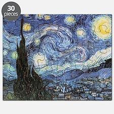 Starry Night Vincent Van Gogh Puzzle