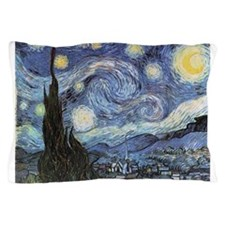 Starry Night Vincent Van Gogh Pillow Case