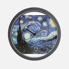 Starry Night Vincent Van Gogh Wall Clock
