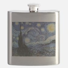 Starry Night Vincent Van Gogh Flask