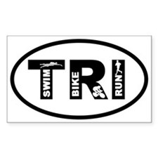 Cute Triathlon Decal