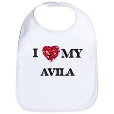 I Love MY Avila Bib