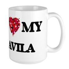 I Love MY Avila Mugs