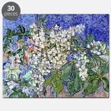 Van Gogh Blossoming Chestnut Branches Puzzle