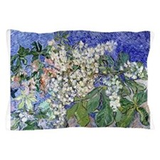 Van Gogh Blossoming Chestnut Branches Pillow Case