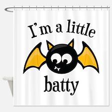 Little Batty Shower Curtain