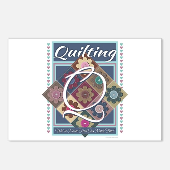 Cute Knitting mom Postcards (Package of 8)