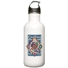 Quilter mom Water Bottle