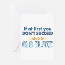 Old Bloke Greeting Cards