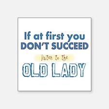 Old Lady Sticker