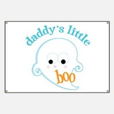 Daddy's Little Ghost Banner