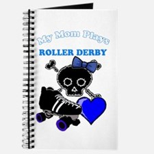 My Mom Plays Roller Derby (Girl) Journal