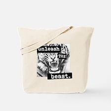 Unleash the Beast Tote Bag