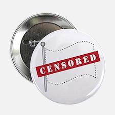 "Censored Flag 2.25"" Button"