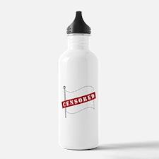 Censored Flag Water Bottle