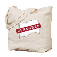 Censored Flag Tote Bag