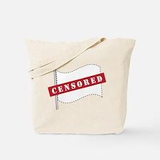 Censored Flag Tote Bag