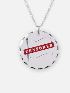 Censored Flag Necklace