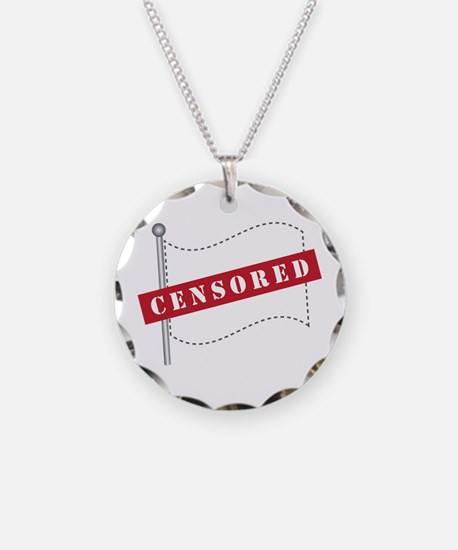 Censored Flag Necklace